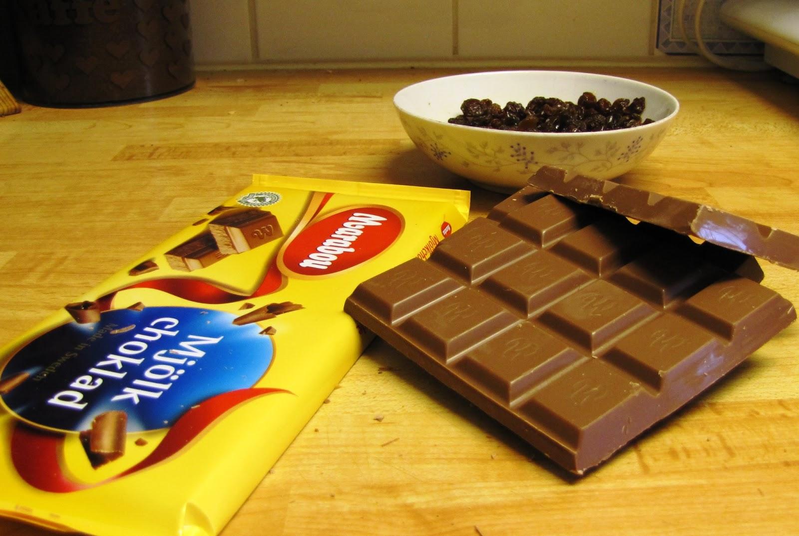hur gör man choklad