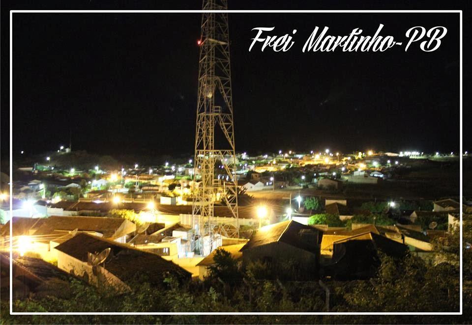 VISITE FREI MARTNHO PB