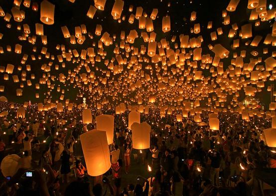 282389839104570020 U7Sn4PDT c أجمل مهرجانات العالم ''مهرجان المصابيح في تايلند '' سيذكرك بفيلم ديزني الشهير Tangled