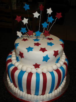 Daniel's Shooting star cake