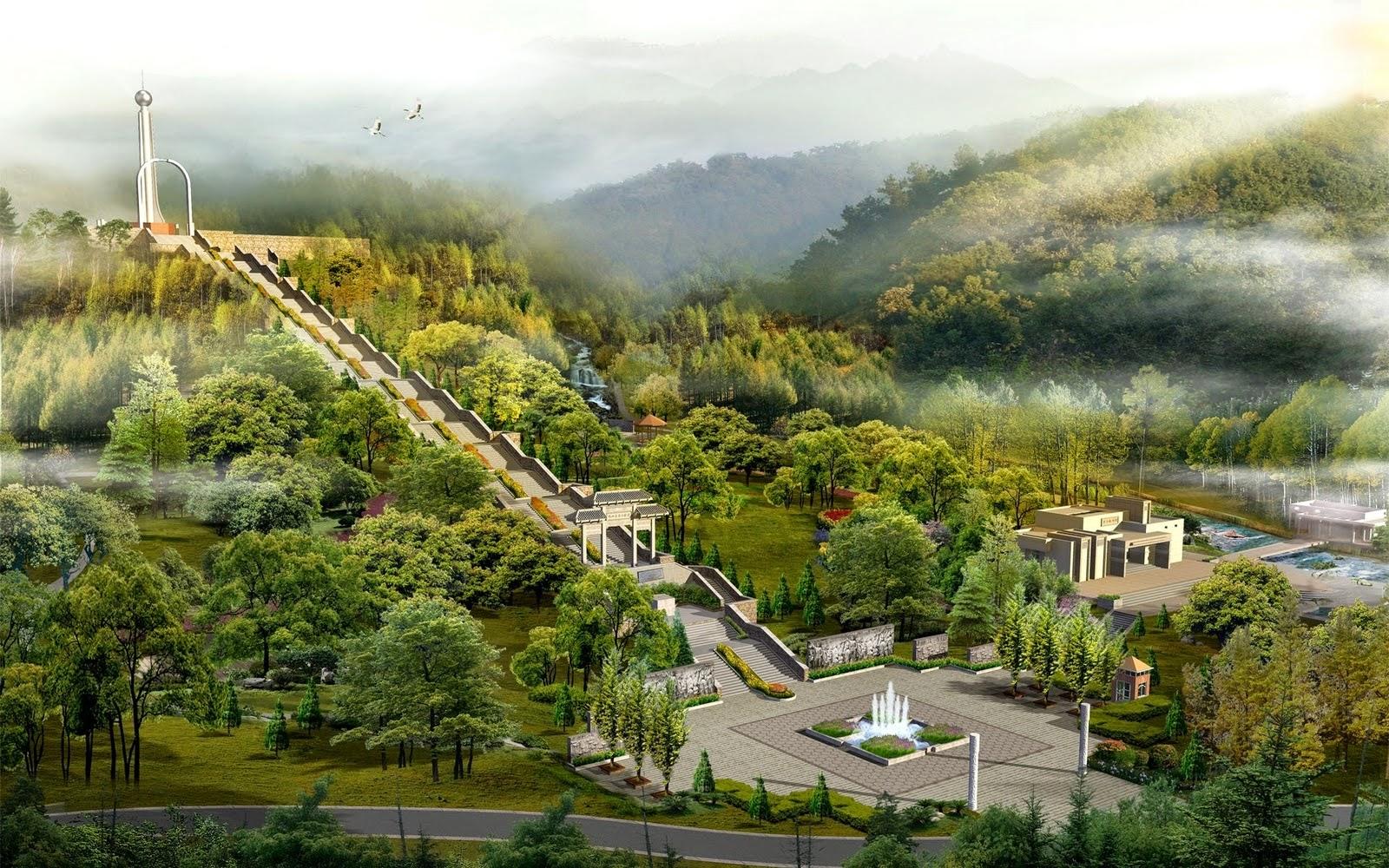 High Resolution Japan Digital Landscaping Pictures