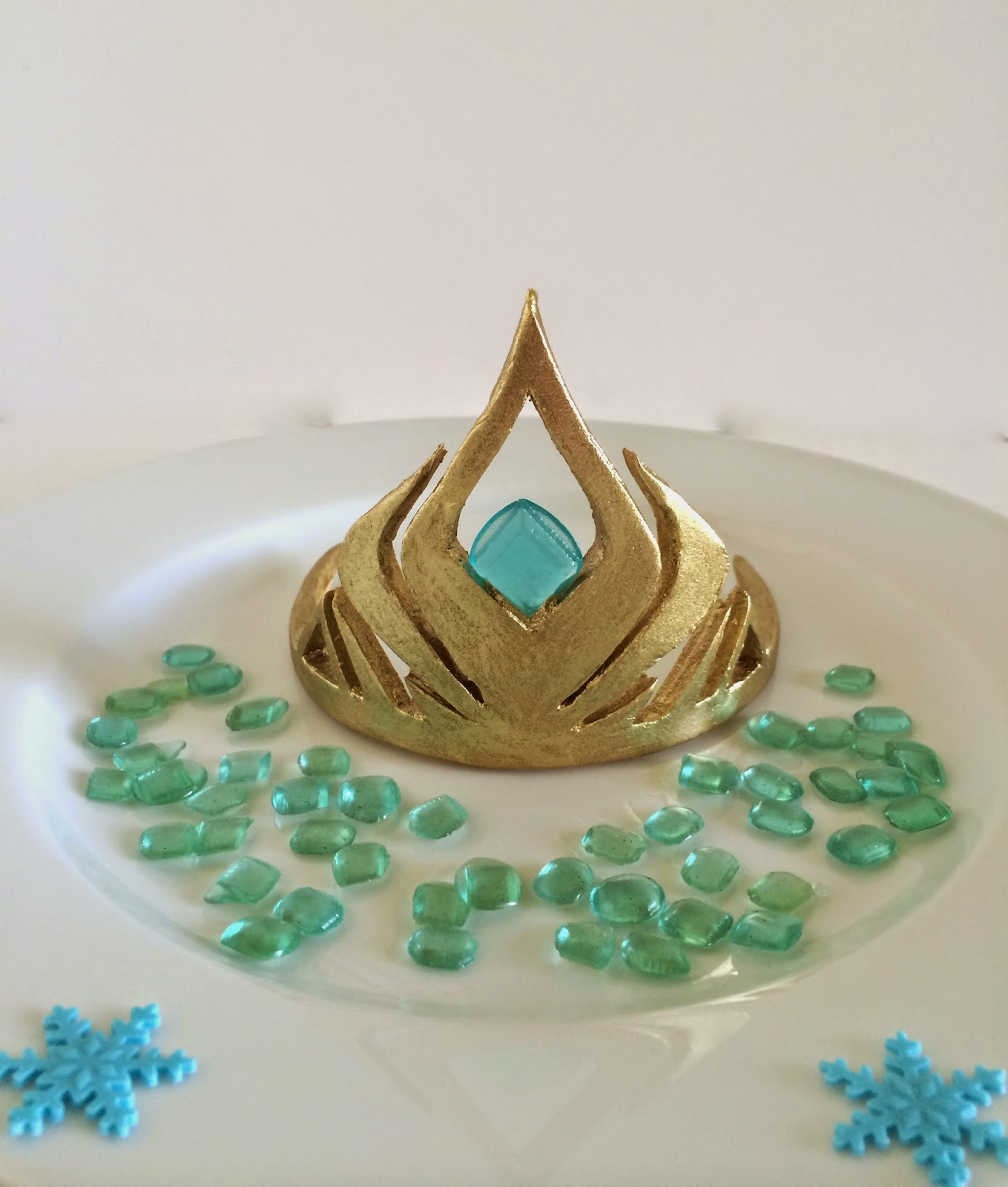 elsa 39 s crown from disney 39 s frozen a template and