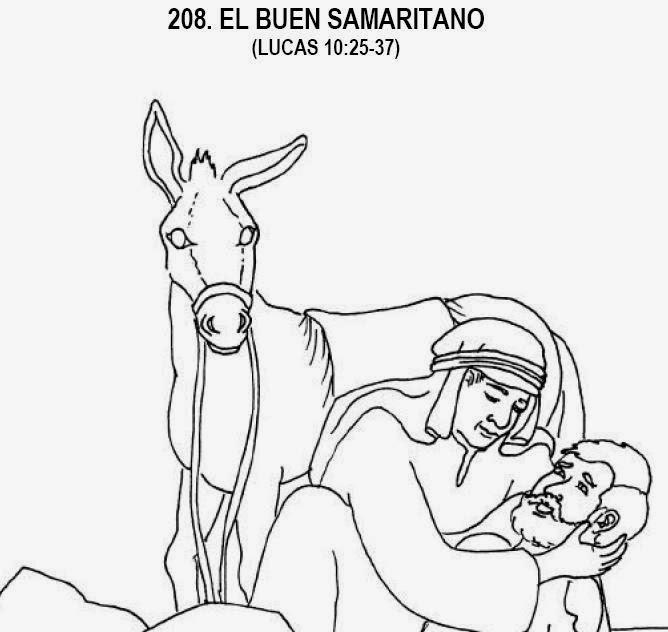 Imagenes Cristianas Para Colorear: Dibujos Para Colorear De El Buen ...