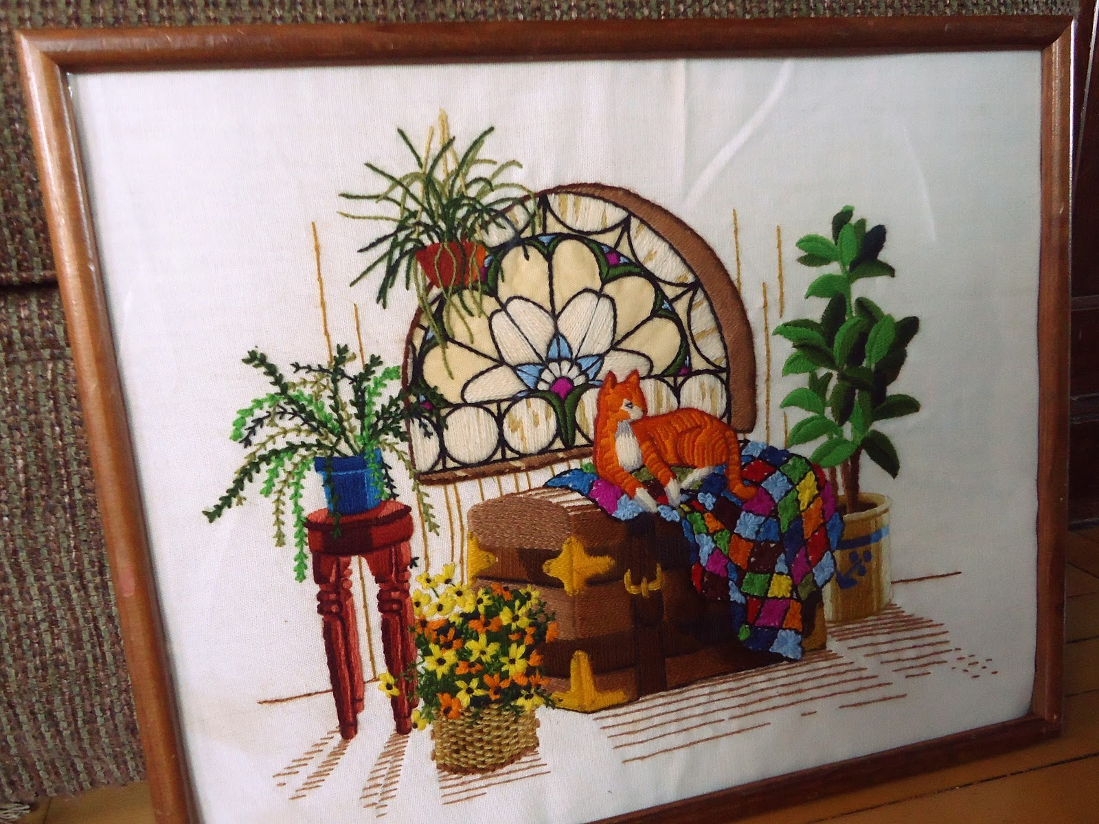 The gallery for gt ribbon embroidery designs wall