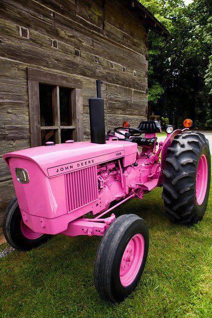 Рожевий трактор