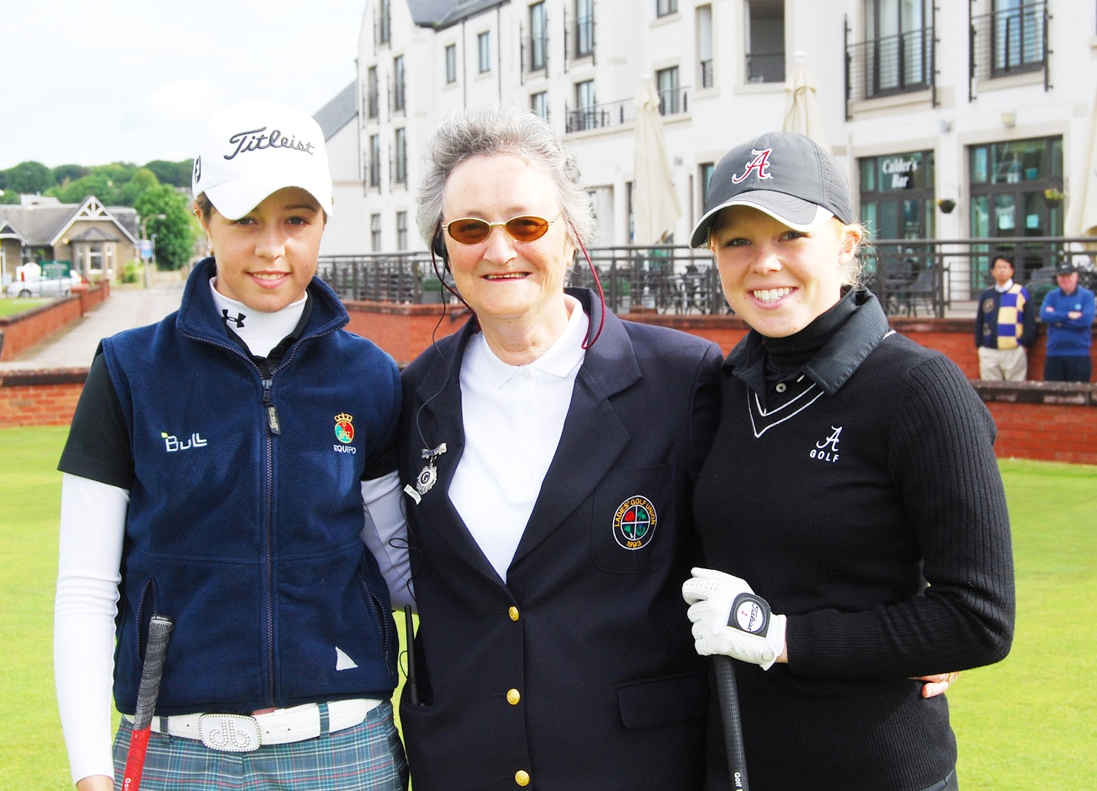 This afternoon's 109th British women's open amateur championship final will ...