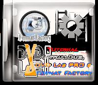 Format Factory, VirtualDub e DVD Lab PRO