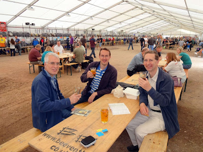 Three Walkers at The Berr Festival