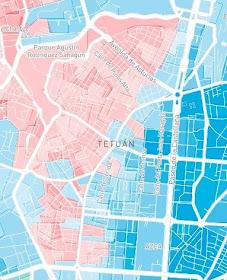 Las elecciones en Tetuán, calle a calle