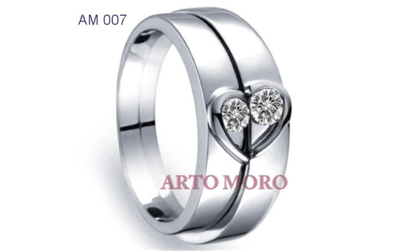 30 Model Cincin Kawin Emas Putih Berlian Titanium Yang Cocok Untuk Anda