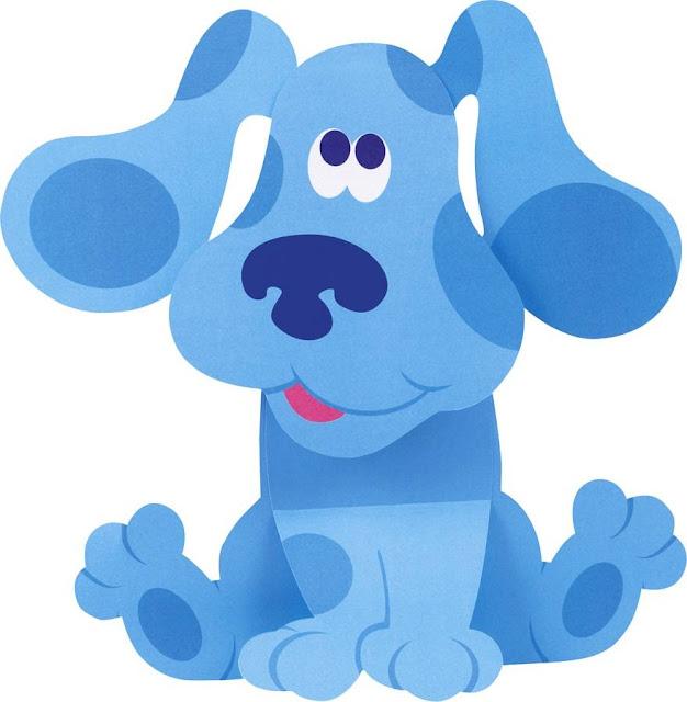 Desenho de Pistas de Blue colorido