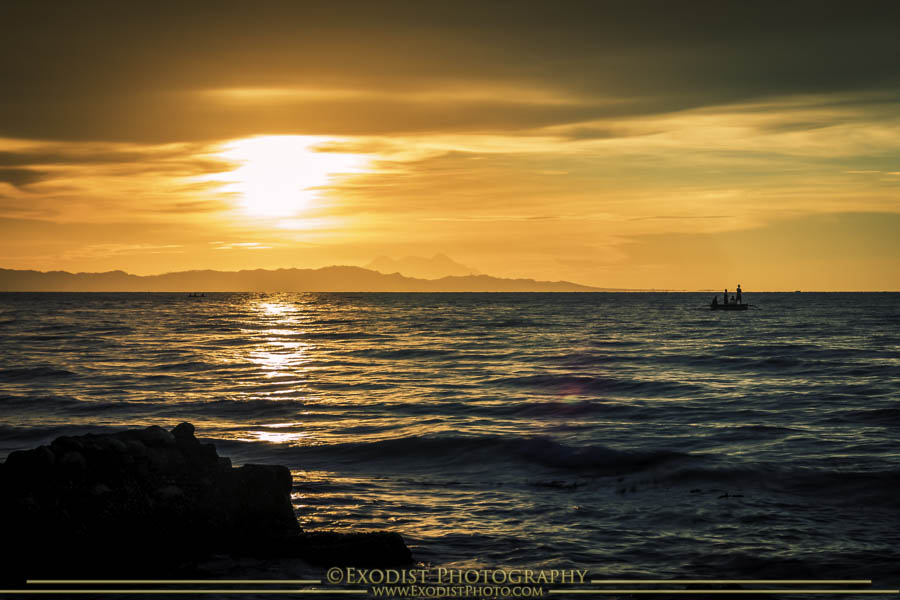 Fishermen's Sunset, Butuan Bay © 2015 Exodist Photography, All Rights Reserved