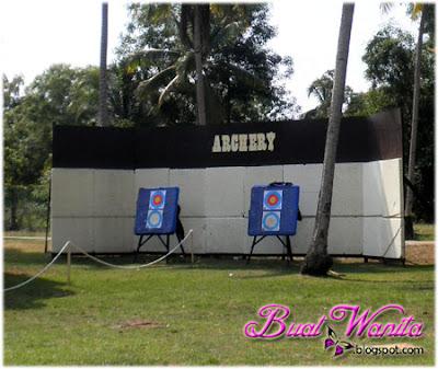 Aktiviti Menarik dan Best Yang Boleh Dilakukan Di The Legend Resort Cherating Pahang Malaysia. Main Archery