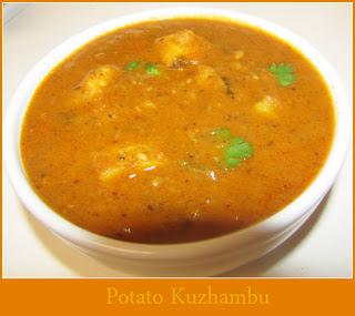 Potato Kuzhambu