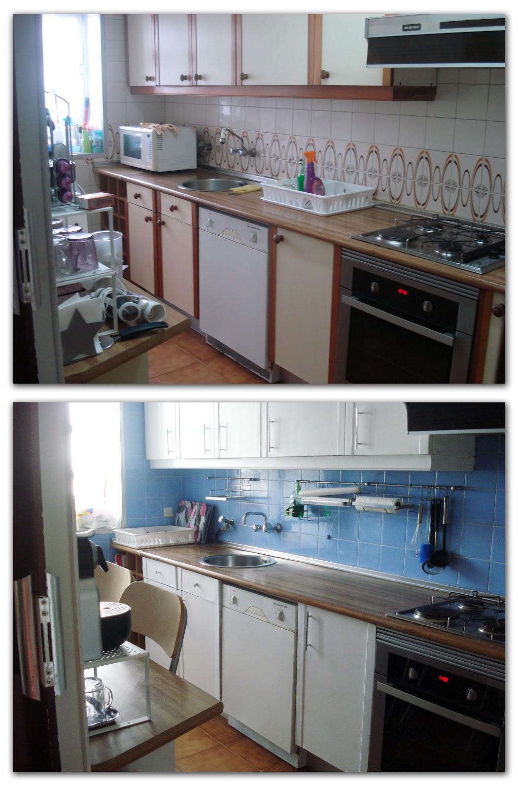 Antes y Después de la cocina de Vanesa : x4duros.com