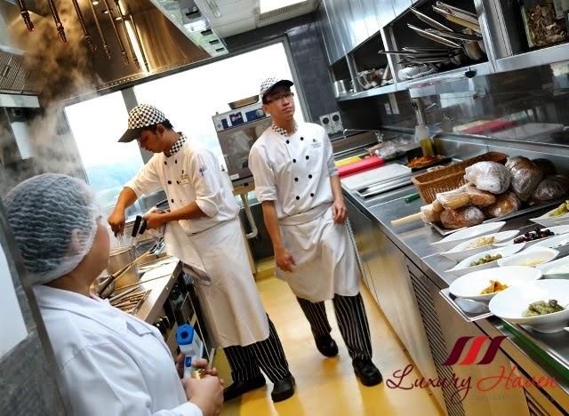 doubletree hilton johor bahru tosca kitchen tour