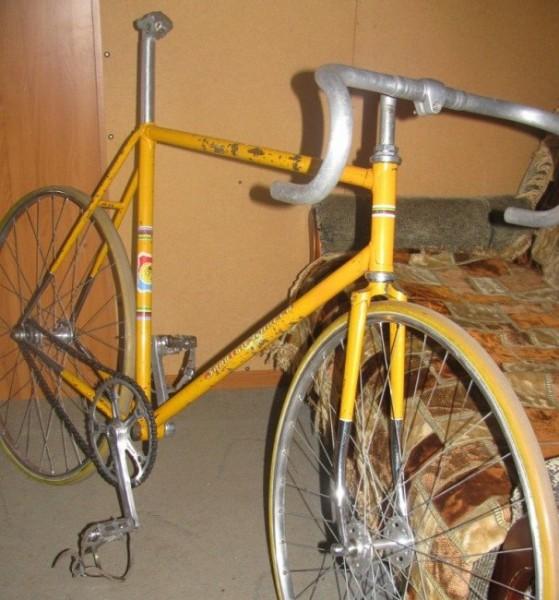 """Призовой велосипед """"Золотые колёса"""""""