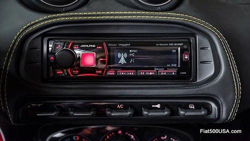 Alfa Romeo 4C Spider Stereo