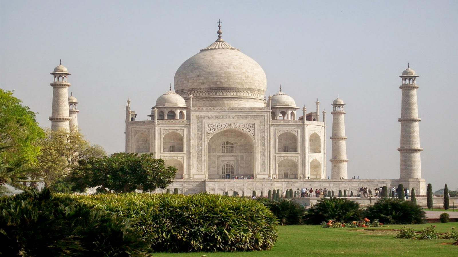 Taj Mahal Islamic Religion Building wallpaper HD Wide
