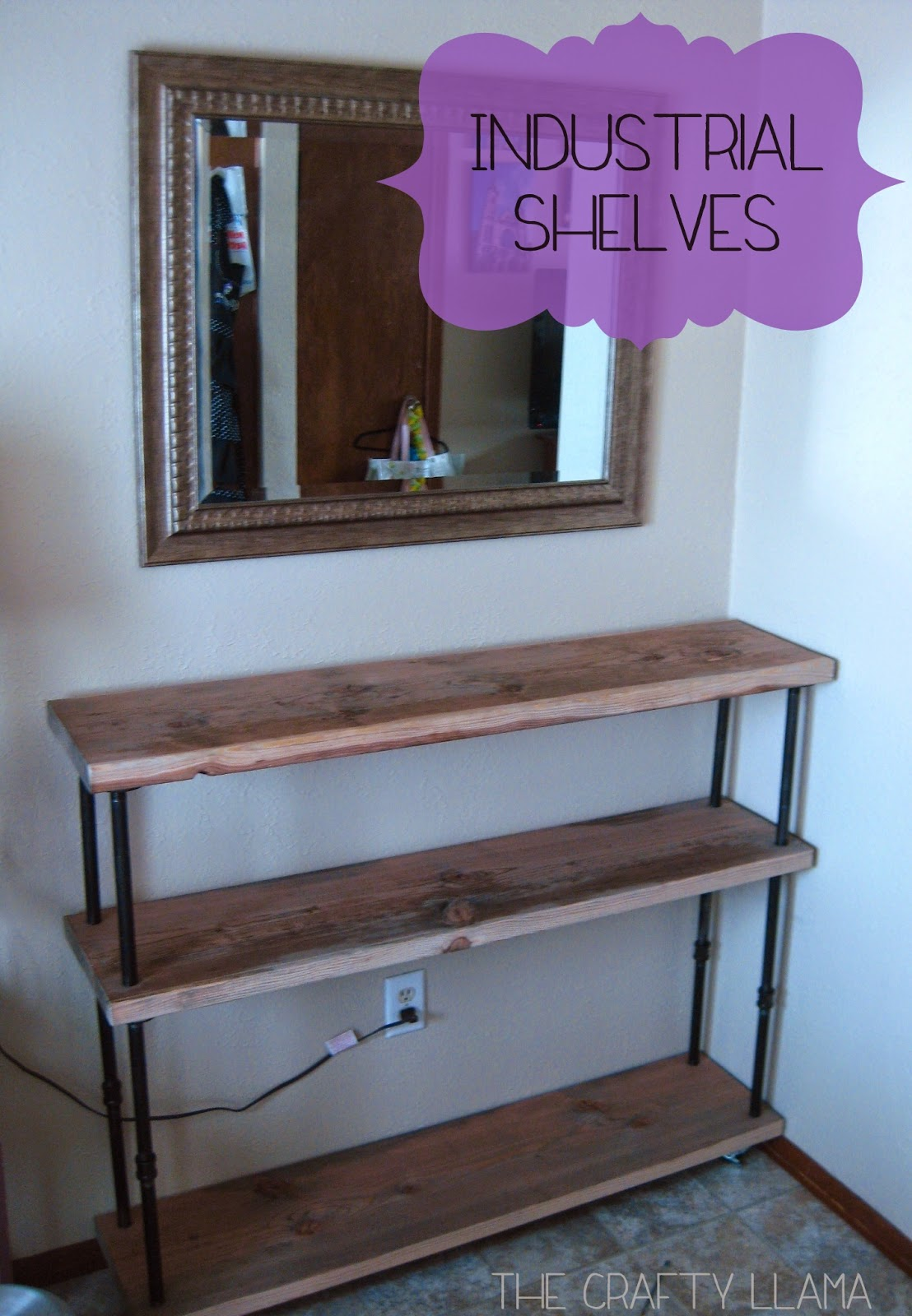 Industrial Bookcase Diy Diy Industrial Shelves