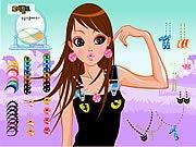 Trang điểm Hàn Quốc, chơi game bạn gái online