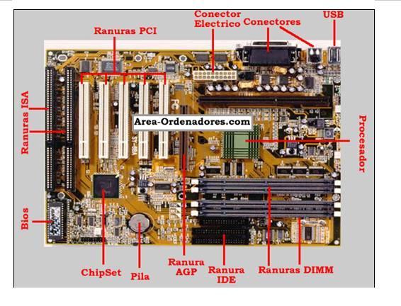 Computacion Y M S Tarjeta Madre Y Sus Componentes B Sicos