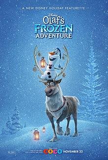 Olaf – Em uma Nova Aventura Congelante de Frozen 2017 Dublado