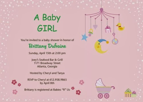 baby shower invitations etiquette