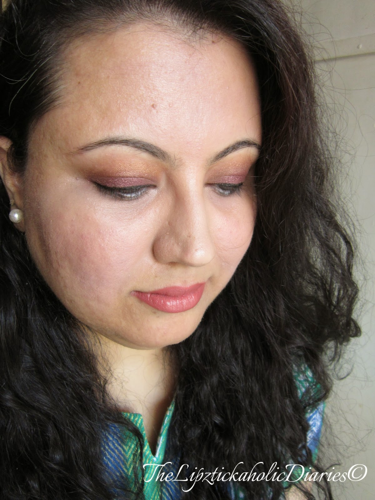 Plum & Copper Eyes  image