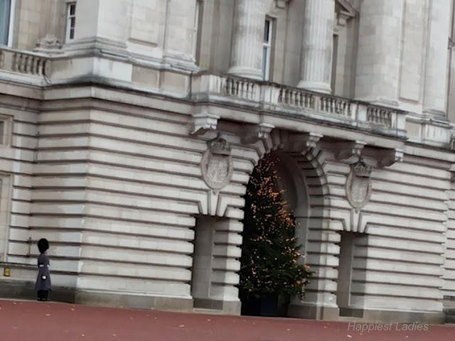 Buckingham Palace Christmas Tree 2013