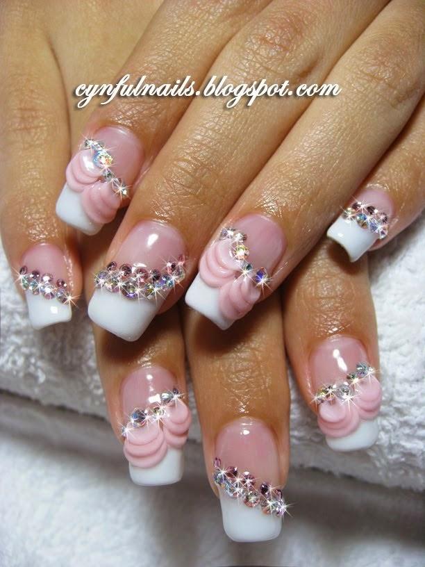 Wedding Tones Bridal Manicure Ideas