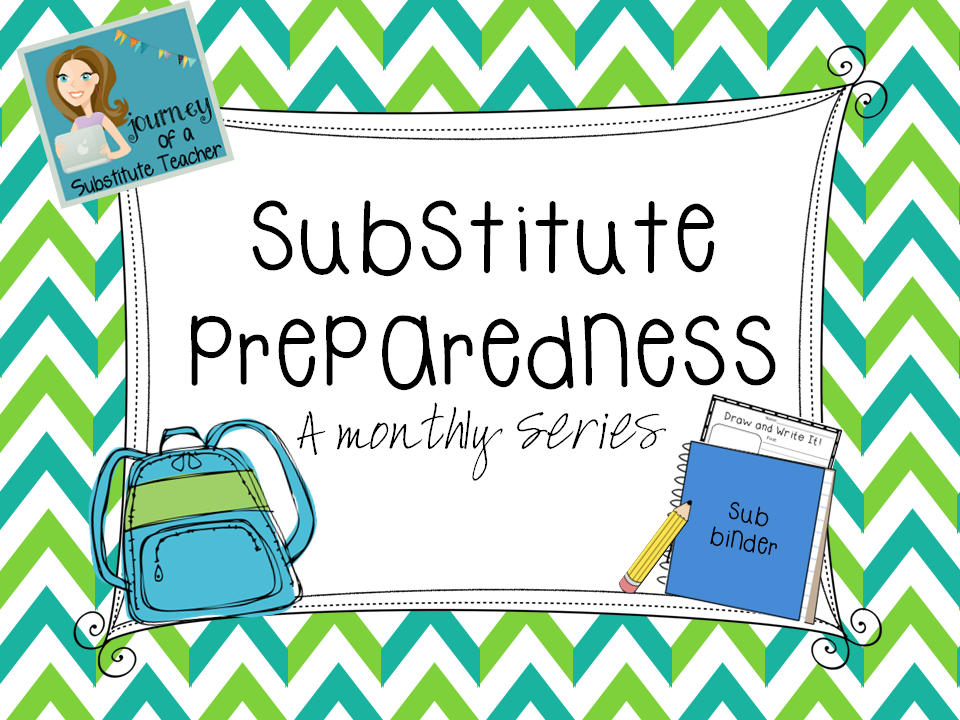 Classroom Management Ideas For Substitutes ~ Substitute preparedness classroom management journey of