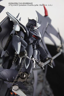 MG 1/100 Gundam Deathscythe Hell Custom