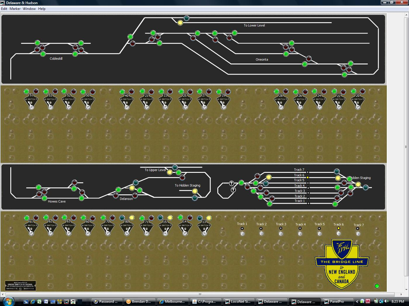 how to build a ctc control panel