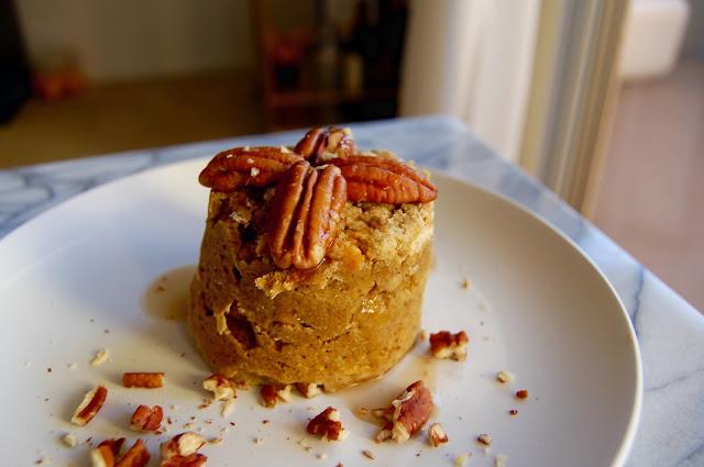 FullSizeRender%2B%252813%2529 - Easy 5 min Protein Pumpkin Mug Cake