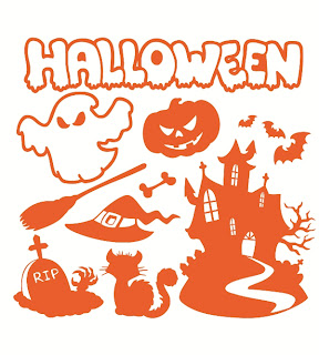 Halloween Wall Decals Pack