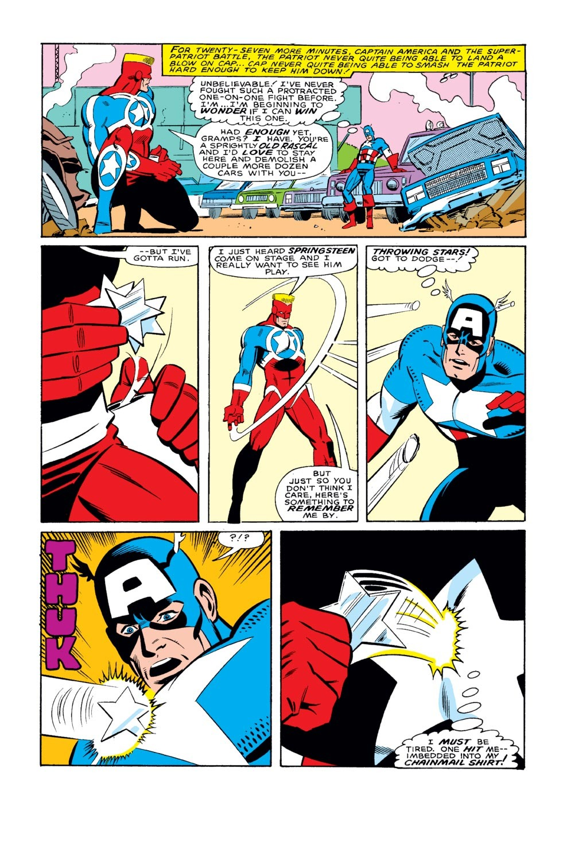 Captain America (1968) Issue #327 #256 - English 21