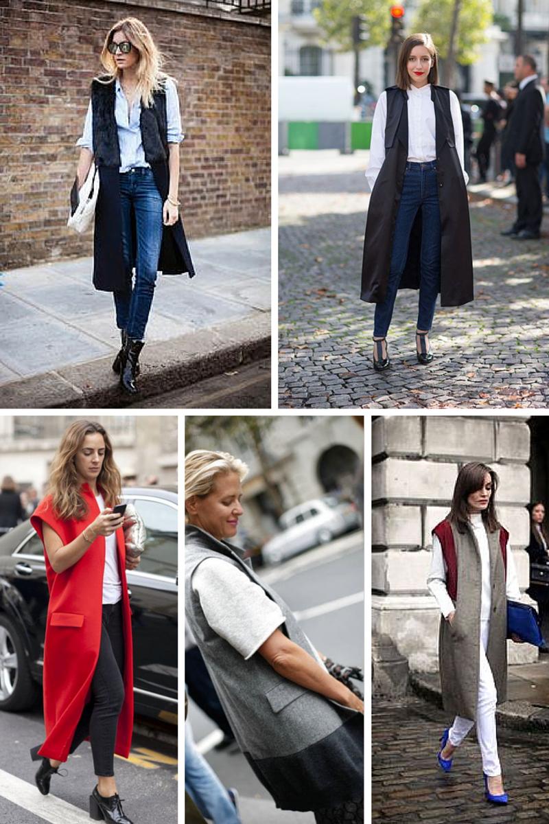 sleeveless coat how to wear