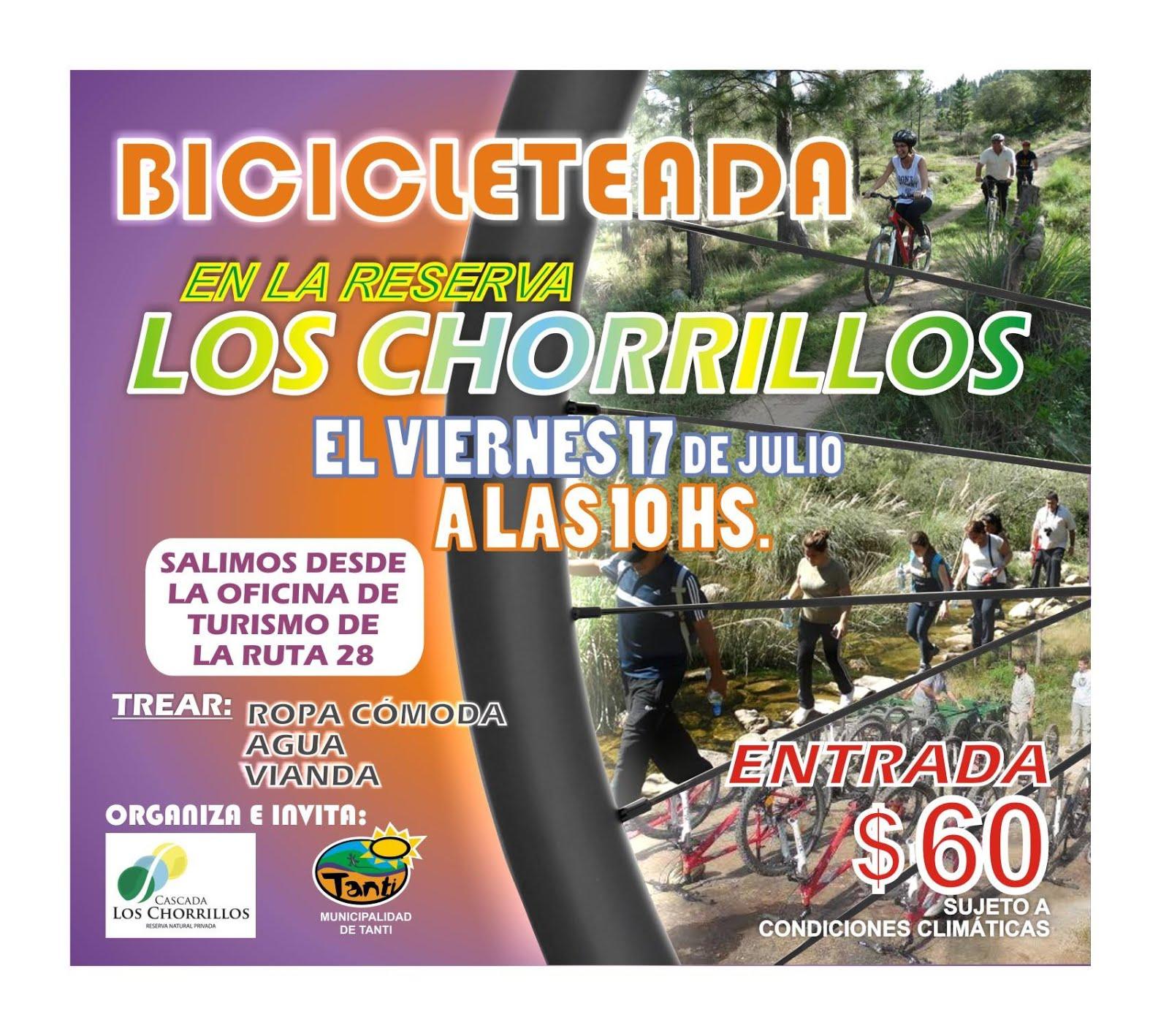 BICICLETEADA EN LOS CHORRILLOS - TANTI