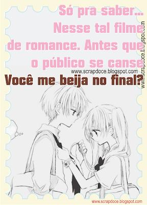 Foto Mensagem de Amor/Beijo para Compartilhar no Facebook