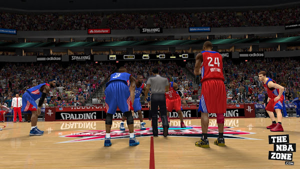 How to play All Star Game in NBA 2k13 without trainer (TheNbaZone.com)