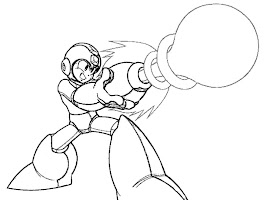 Mega Man Coloring Sheets