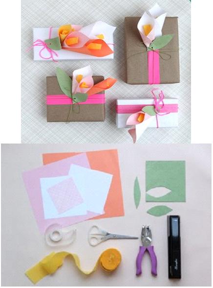 Manitas creativas y algo mas papel envolturas para regalos for Envolturas para regalos
