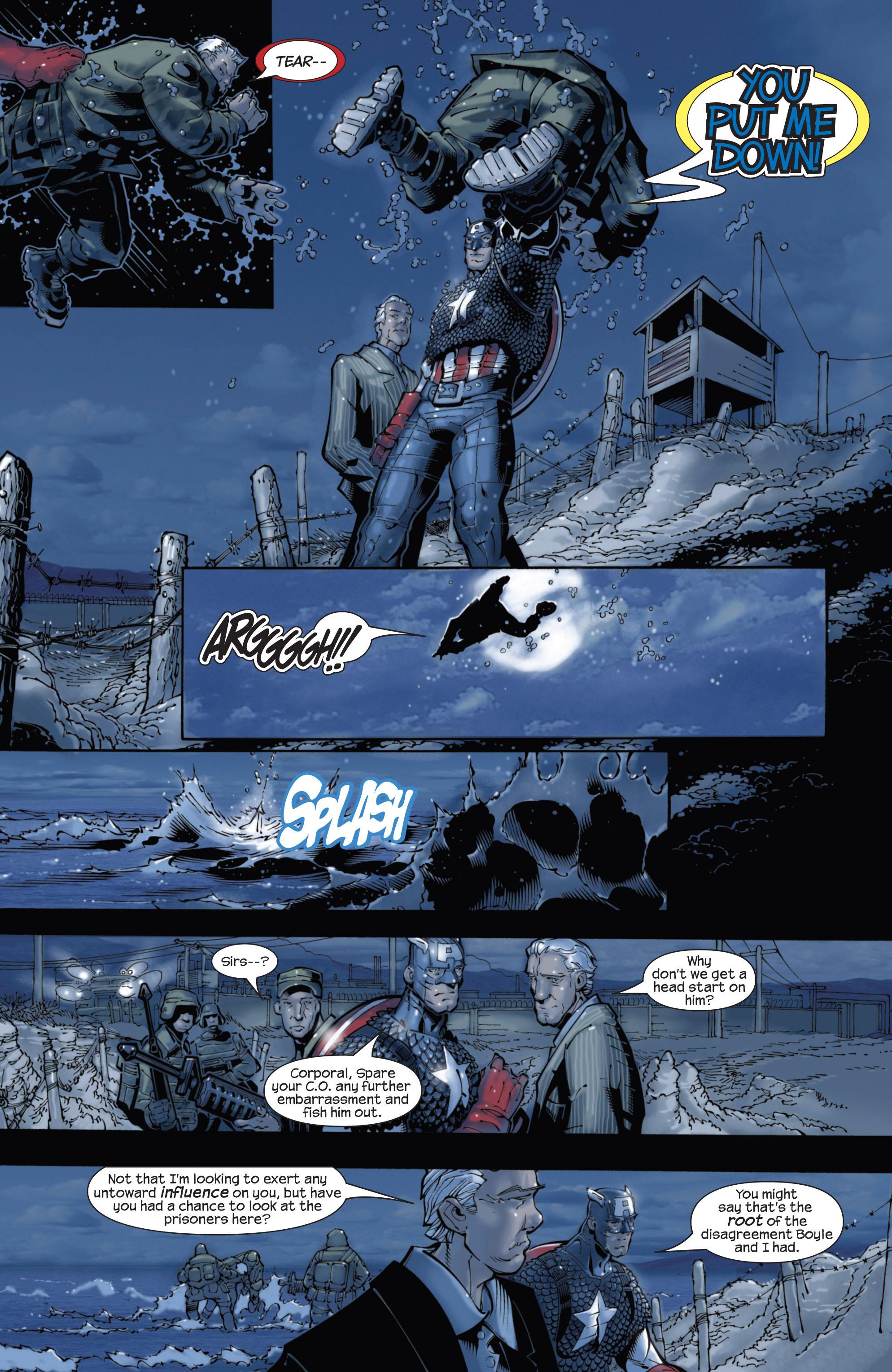 Captain America (2002) Issue #22 #23 - English 17