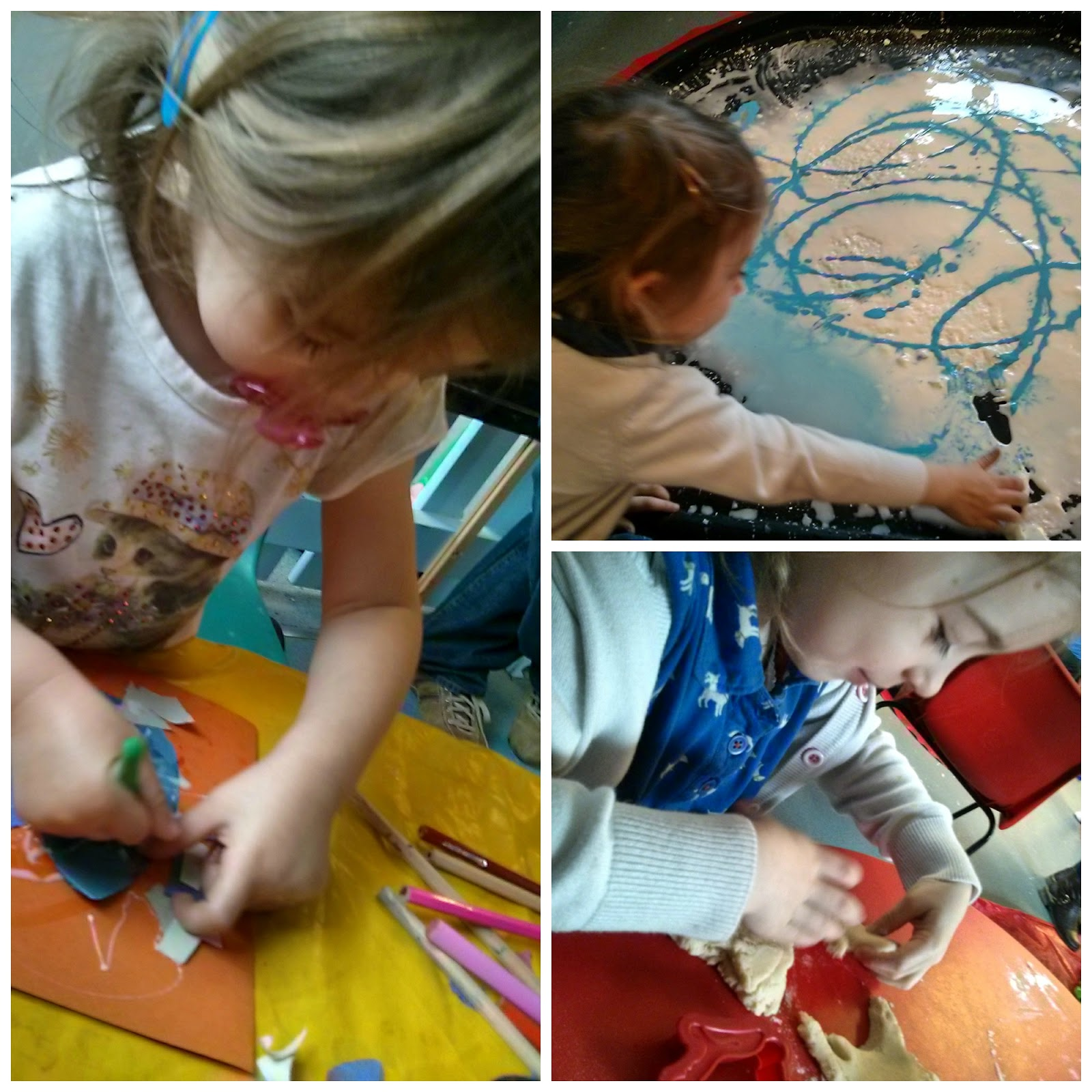 Butlins Messy play
