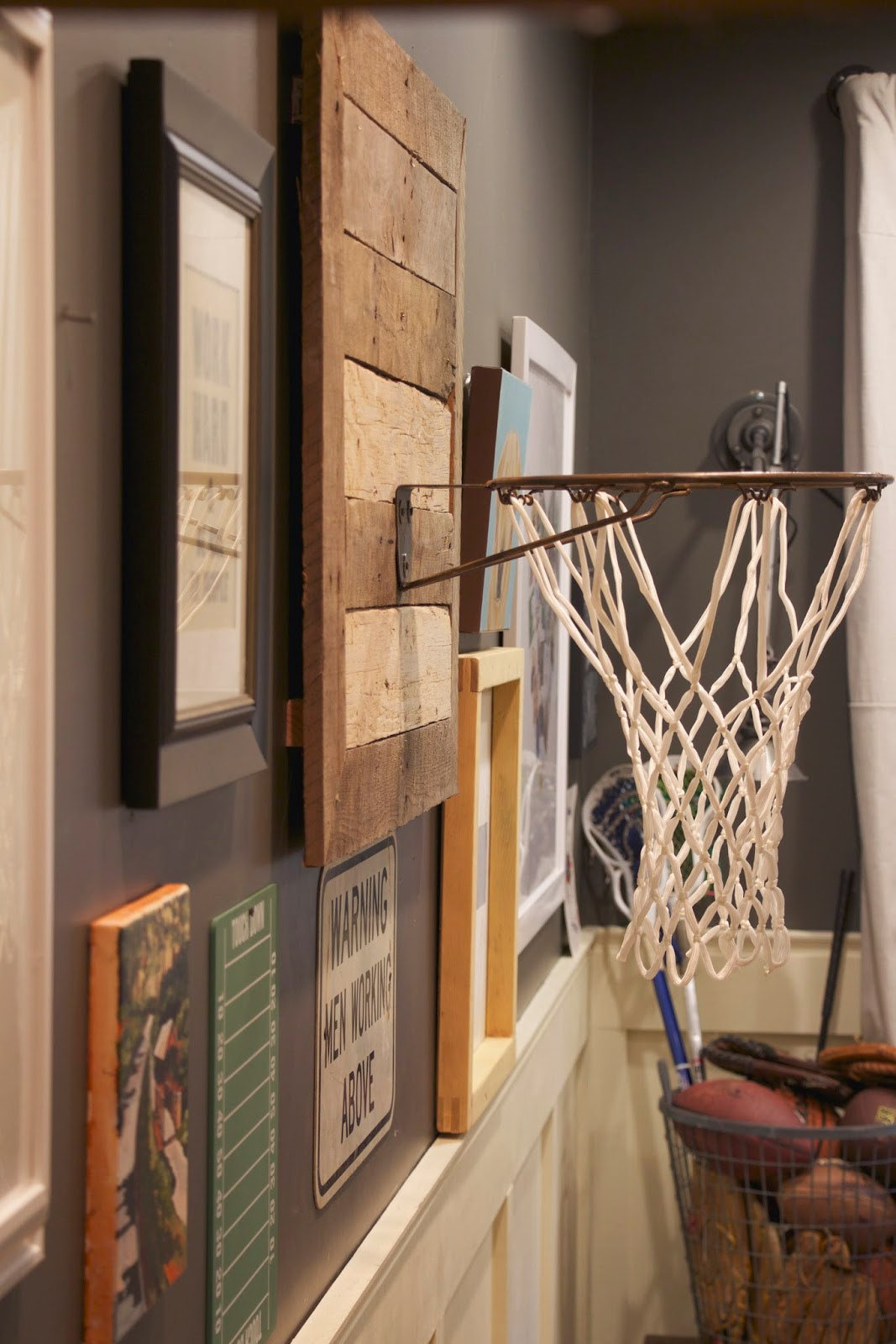 My Sweet Savannah Thrifty Thursday Diy Basketball Hoop