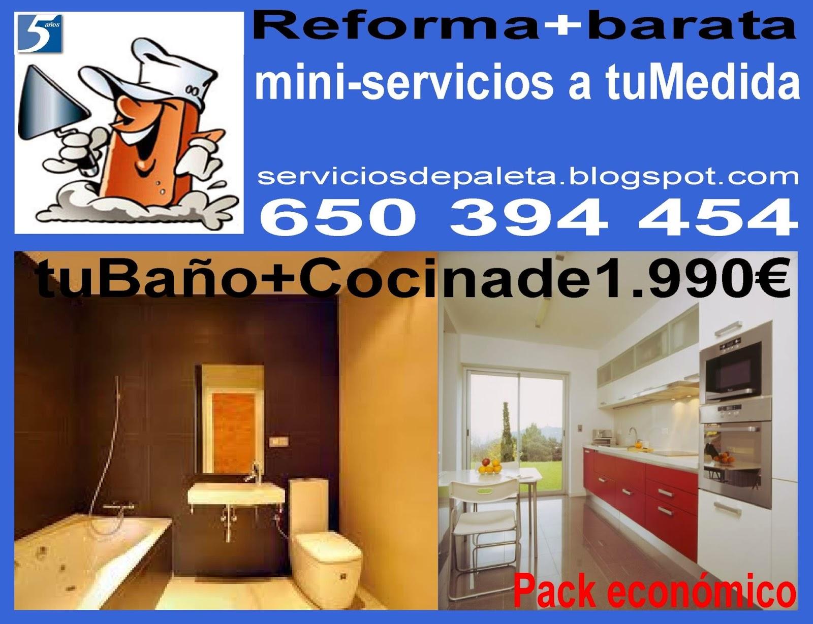 Construcci n reformas for Reforma cocina barata