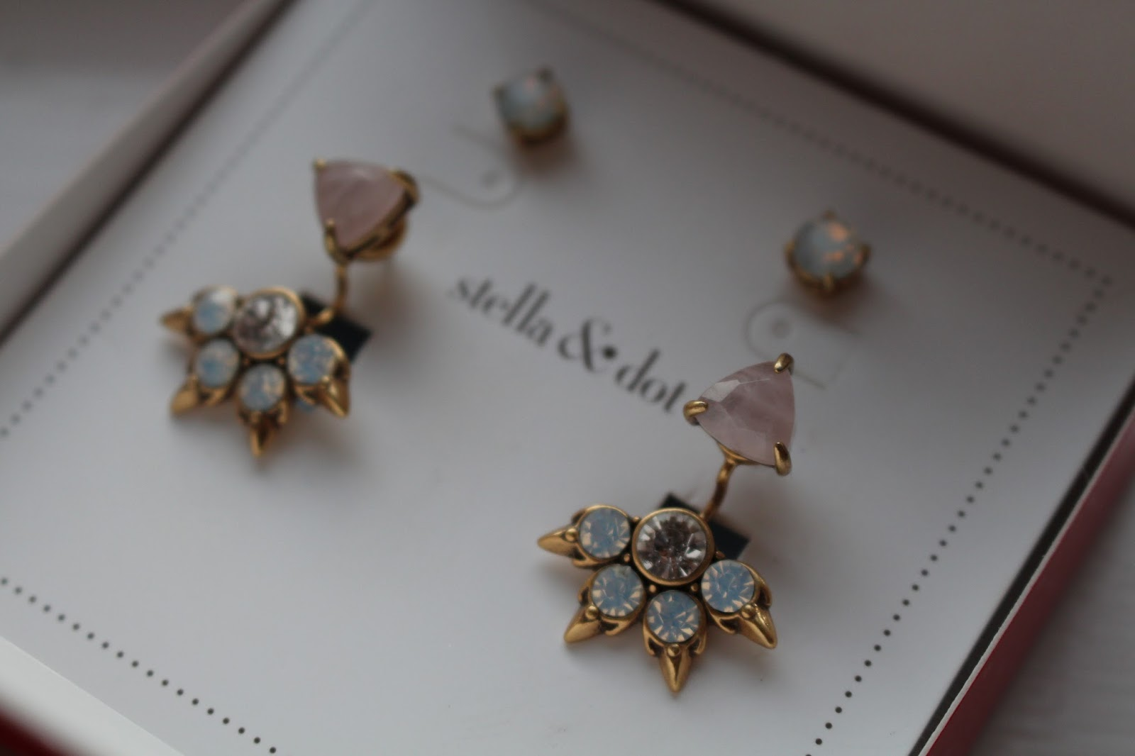 Stella & Dot Is A Brand I'mpletely Obsessed With At The Moment And It's  Not Hard To Figure Out Why  How Gorgeous Are These Pretty Eva Ear Jacket