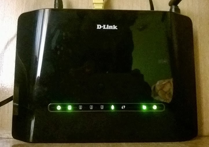 D-Link DSL-2730U Wireless Router