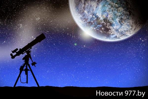 Меркурий в ночном небе